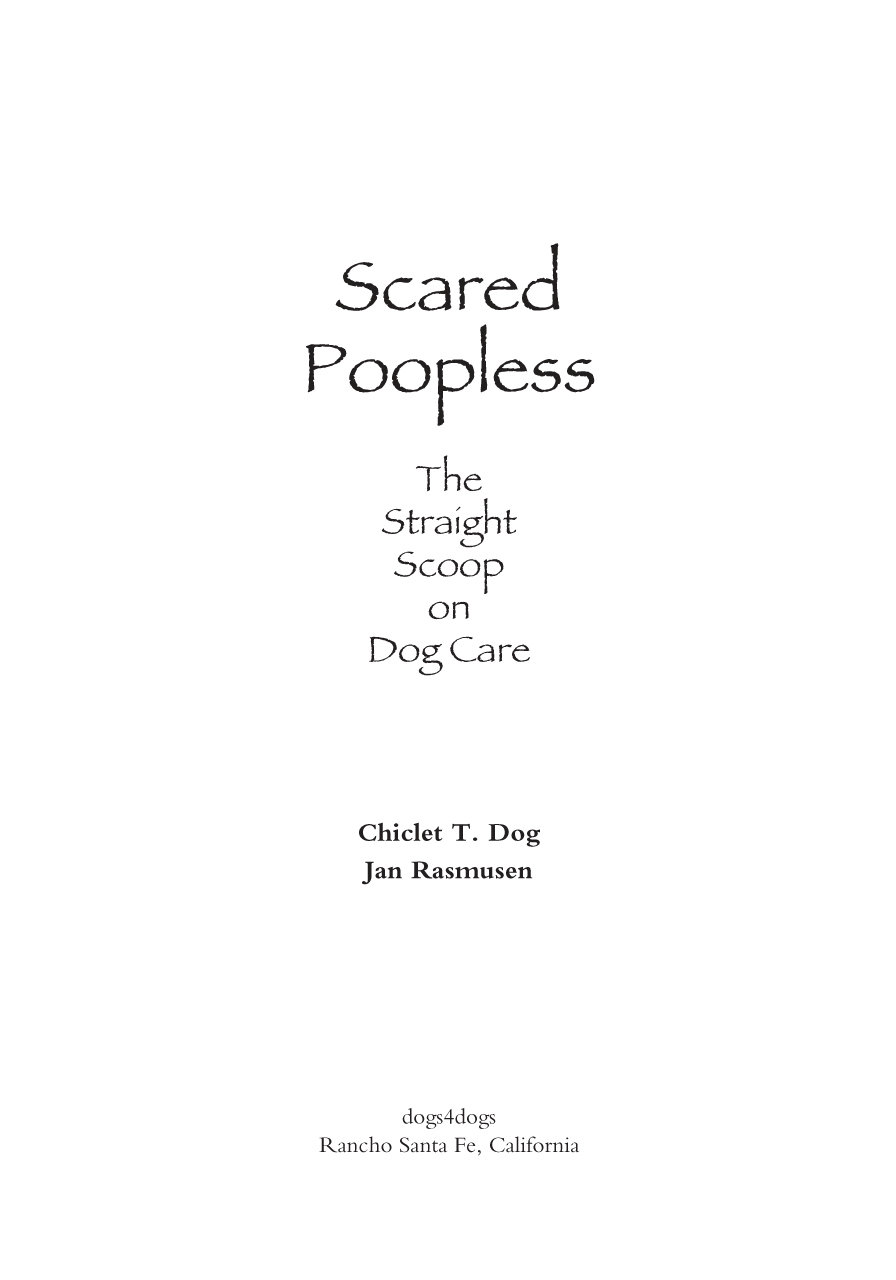 Scared Poopless